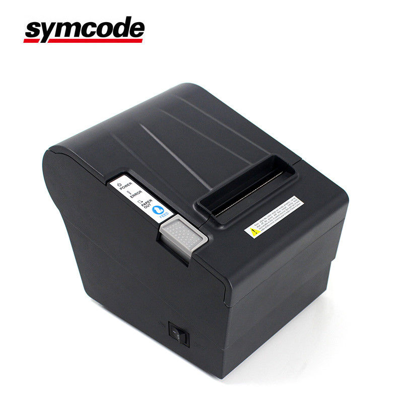 Compact Bluetooth POS Thermal Receipt Printer 203DPI Resolution With Auto Cutter